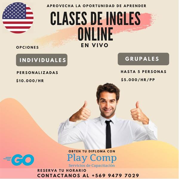 Cursos On-Line Inglés